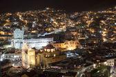Il bellissimo skyline della città di guanajuato, messico — Foto Stock