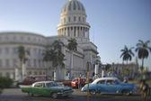 The capitolio building in the centre of havana, cuba — Stock Photo