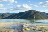 Hierve el agua in oaxaca state, mexico — Stock Photo