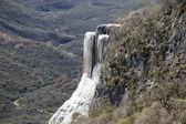 墨西哥瓦哈卡州 hierve el agua — 图库照片