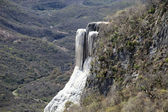 Hierve el agua durumda oaxaca, meksika — Stok fotoğraf