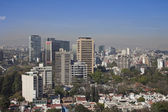 Polanco skyline, mexico df — Stock Photo