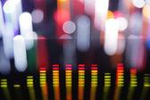 Equalizzatori grafici — Foto Stock
