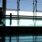 Airport rush — Stock Video