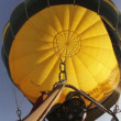 Hot air balloons take part in the european balloon festival — Vídeo de stock