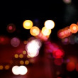 Stop motion urban scene of traffic on a major road at dusk in barcelona, spain — Vídeo de stock