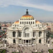 Time-lapse of the impressive bellas artes building in mexico city — Stock Video