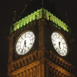 Big ben clock in london, during 30 minutes speeded up — Vídeo de stock