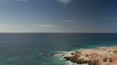 Beautiful timelapse shot in los cabo, baja california sur mexico — Vídeo de stock