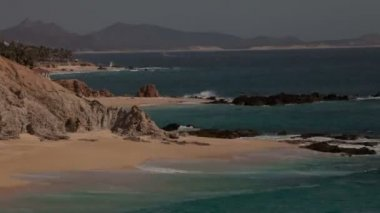 Beautiful timelapse shot in los cabo, baja california sur mexico — Стоковое видео