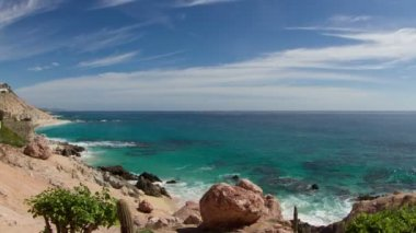 Beautiful timelapse shot in los cabo, baja california sur mexico — ストックビデオ
