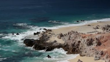 Beautiful scene in los cabo, baja california sur mexico — ストックビデオ