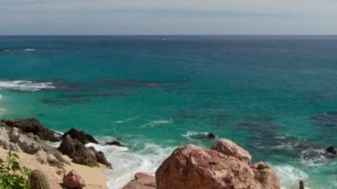 Beautiful timelapse shot in los cabo, baja california sur mexico — Stok video