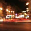 Pattern made from long exposure urban scene — Stock Video