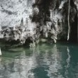 Stock Video: Cenote in mexico
