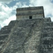 Stock Video: Timelapse of mayruins of chichen itza, mexico.