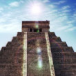 Timelapse of the mayan ruins of chichen itza, mexico. — 图库视频影像