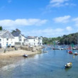 Timelapse of the picturesque harbour village of padstow on the cornwall coast, england — Wideo stockowe