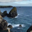 Timelapse of the stunning and dramatic coastline at kynance cove on the cornwall coast, england — Stock Video