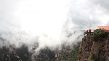 The incredible copper canyon (Barrancas del Cobre), northern mexico. — Stok video