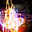 Abstract filmed lights, visual loop — Stock Video