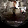 A funky discoball spinning and reflecting light — 图库视频影像