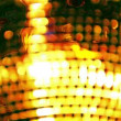 A funky discoball spinning and reflecting light — Stockvideo