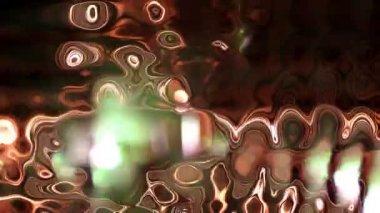Funky discoball iplik ve ışığı yansıtan — Stok video