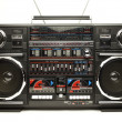 ストック写真: Retro ghettoblaster