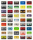 Viejo cassette — Foto de Stock