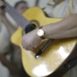 The cuban band eco caribe filmed performing in havana. — Stock Video