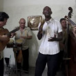 Stock Video: The cuban band eco caribe filmed performing in havana.