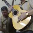The cuban band eco caribe filmed performing in havana. - Stock Photo