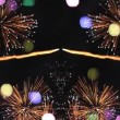Colourful fireworks display — Vidéo