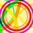 Circles shapes abstract — Vídeo de stock
