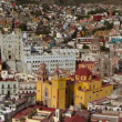 The beautiful skyline of the city of guanajuato, mexico. — Stock Video