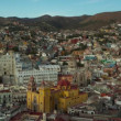 Timelapse of the beautiful guanajuato city skyline, mexico. - Stock Photo