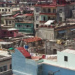 Timelapse of the havana skyline and coast, cuba — Stock Video