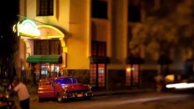 Timelapse of the famous floridita bar in havana — Stock Video #17157597