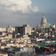 Timelapse of the havana skyline and capitolio building, cuba — Stock Video #17160211