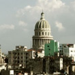 Timelapse of the havana skyline and capitolio building, cuba — Stock Video