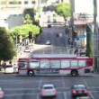 Timelapse of traffic on a street in downtown los angeles — Stock Video