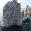 Stock Video: Los arcos and los cabos in bajcalifonisur