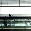 Stock Video: Madrid airport