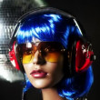 Unique stop motion clip a fashion mannequin head - Stockfoto