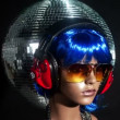 Unique stop motion clip a fashion mannequin head - Foto de Stock