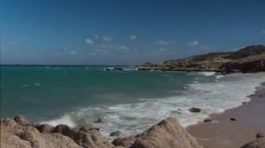 Beautiful scene in los cabo, baja california sur mexico — Stok video
