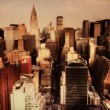 View of manhattan skyline from a high vantage point - Lizenzfreies Foto
