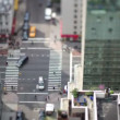 Manhattan street scene with traffic and — Stockvideo