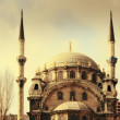 The Nusretiye Cami mosque in istanbul, turkey — Vidéo